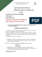 GUIA 1- LENGUA CASTELLANA