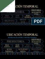 UBICACIÓN TEMPORAL