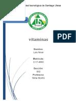 DEFICIT Y EXCESOS DE VITAMINAS