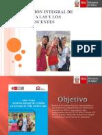ATENCION INTEGRAL ADOLESCENTES 2016.ppt