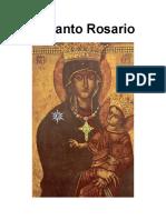 El Santo Rosario (imprimible)