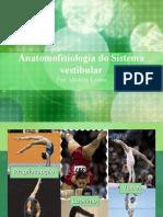 Anatomofisiologia do Sistema vestibular