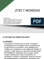 Billetes y Monedas de Bolivia
