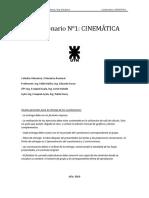 Cuestionario 1 Rev02 - CINEMATICA