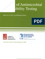 Manual of Antimicrobial Susceptibility Testing