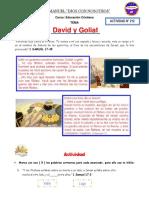 ACTIVIDAD Nº 212 - David y Goliat