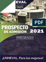 Prospecto Admisión Unheval -2021 - ProfeWilliamsDavila.blogspot.com
