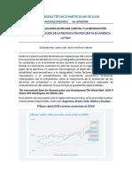 LA EVOLUCIÓN DE LA PRODUCCIÓN PER CÁPITA EN AMÉRICA LATINA - JIXON MUÑOZ