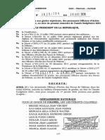 Forces Armees Paul Biya Signe Quatre Decrets Pour Lacces Au Grade Superieur