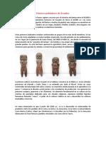 Primeros pobladores de Ecuador