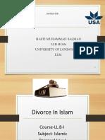 Divorce lecture 2