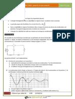 Série d'exercices - Physique - Dipole RLC Libre - Bac Mathématiques (2016-2017) Mr Afdal Ali