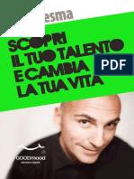 Scopri il tuo talento e cambia - Carlo Lesma