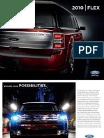 2010 Ford Flex brochure