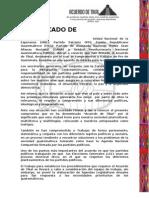 Comunicado de Prensa Acuerdo de Tikal