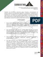 Declaración del Acuerdo de Tikal
