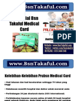 Prudential Bsn Takaful Medical Card