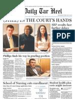 The Daily Tar Heel for Febrary 16, 2011