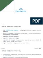 UML Esercitazione