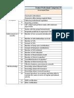Trainee Evaluation Form