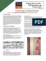 Cavity Wall Insulation Brochure BuildersAGI