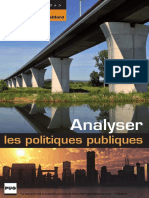 Analyser Les Politiques Publiques by Jacques de Maillard