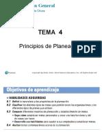 seman 4 principos de planeacion