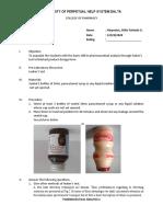 Laboratory Exercise 11 Leaker's Test