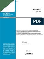 NF EN 872 (T90-105)-2005(水质 悬浮固体的测定 用玻璃纤维过滤器过滤的方法)