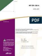 NF EN 12614-2005(混凝土结构保护和修缮用产品及系统的试验方法 聚合物的玻璃化转变温度的测定)