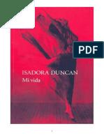 Duncan Isadora - Mi Vida