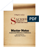 Sacred Scrolls - Master Notes - Qabeelat Nurayn