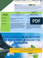 VALORAMOS LOS BENEFICIOS DEL AGUA PARA LA SALUD Y AMBIENTE 3º.pptx