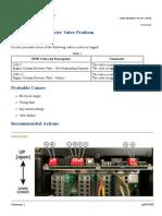CAT - 3516H Engine Coolant Diverter Valve Problem