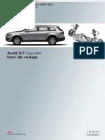 633 - Audi Q7 (Tipo 4M) Tren de Rodaje