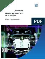 250 Ssp Gestion Del Motor W12 en El Phaeton
