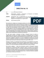 Directiva 18 Men