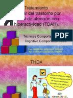 Tratamiento escolar del trastorno por déficit de atención