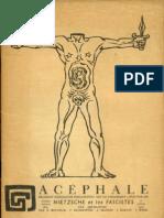 Acéphale janvier 1937