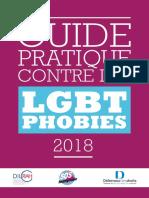 SOS Homophobie - 2018 - Guide pratique contre les LGBTphobies 2018