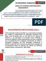 Formulacion del POI ATM 2020