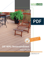 Natur in Form WPC Terrassendielen