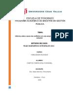 GRUPO 5 - TECNICAS DE SOLUCION DE CONFLICTOS
