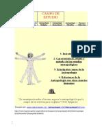 Objeto y Método de la Antropología.