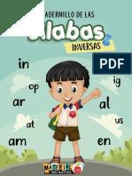 Cuadernillo de las silabas inversas