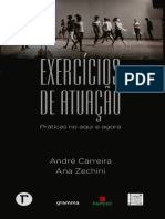 Exercícios de Atuação E-Book