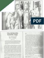 manifiesto rio combahee - uma declaración negra feminista (1977)