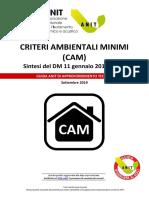 ANIT Criteri Ambientali Minimi (CAM) SETTEMBRE 2019