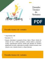 Desenho Técnico aula 1  - apresentação da disciplina.pptx