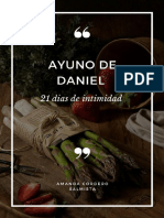 Ayuno de Daniel - Amanda Cordero